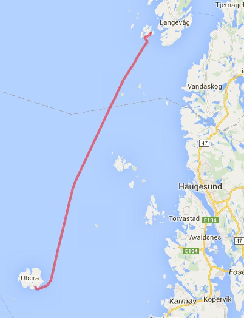 Espevær - Utsira Sørevågen