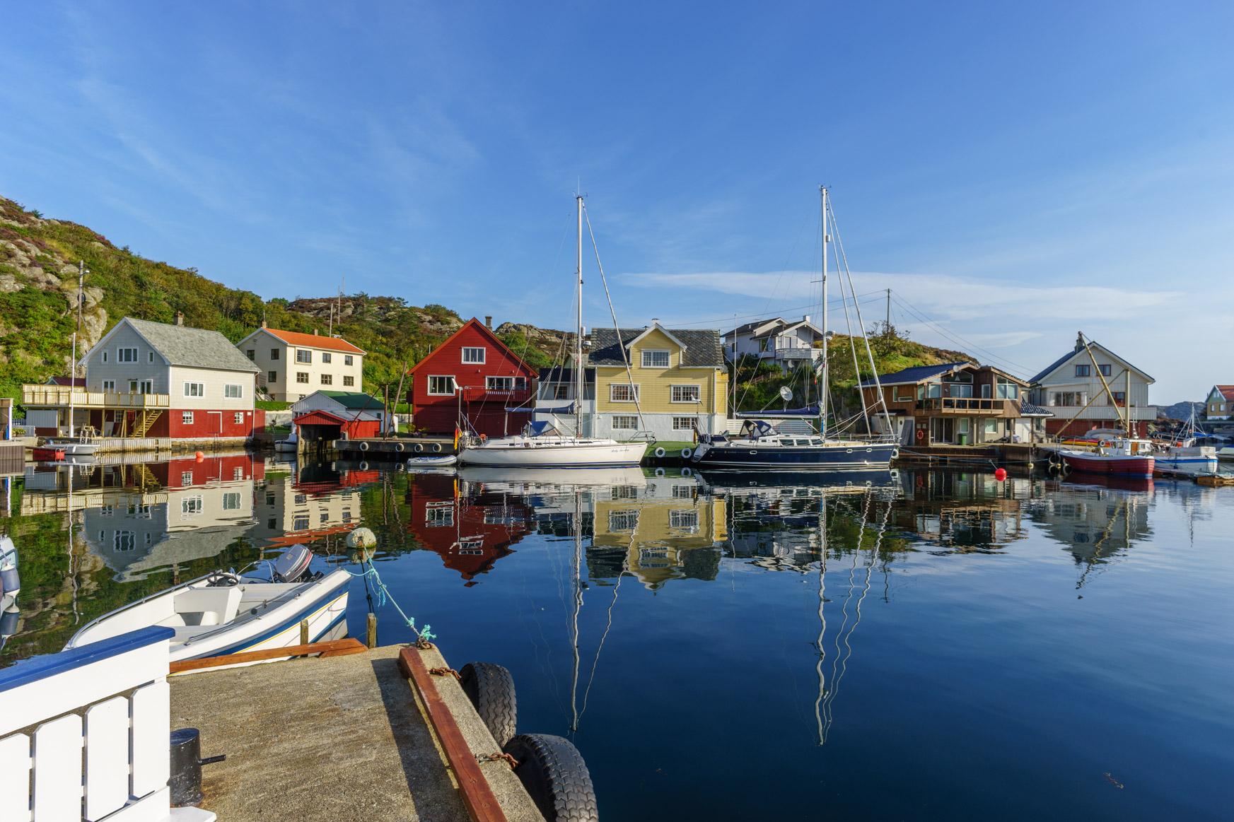 Liegeplatz in Espevær
