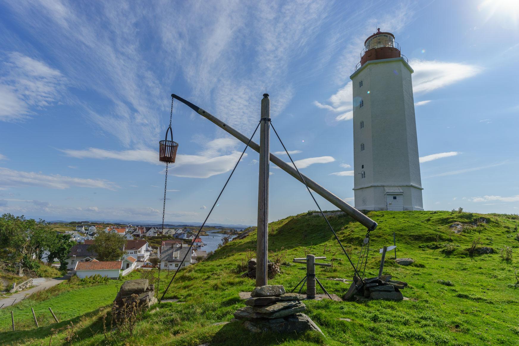 Und noch mal - neuer und alter Leuchtturm