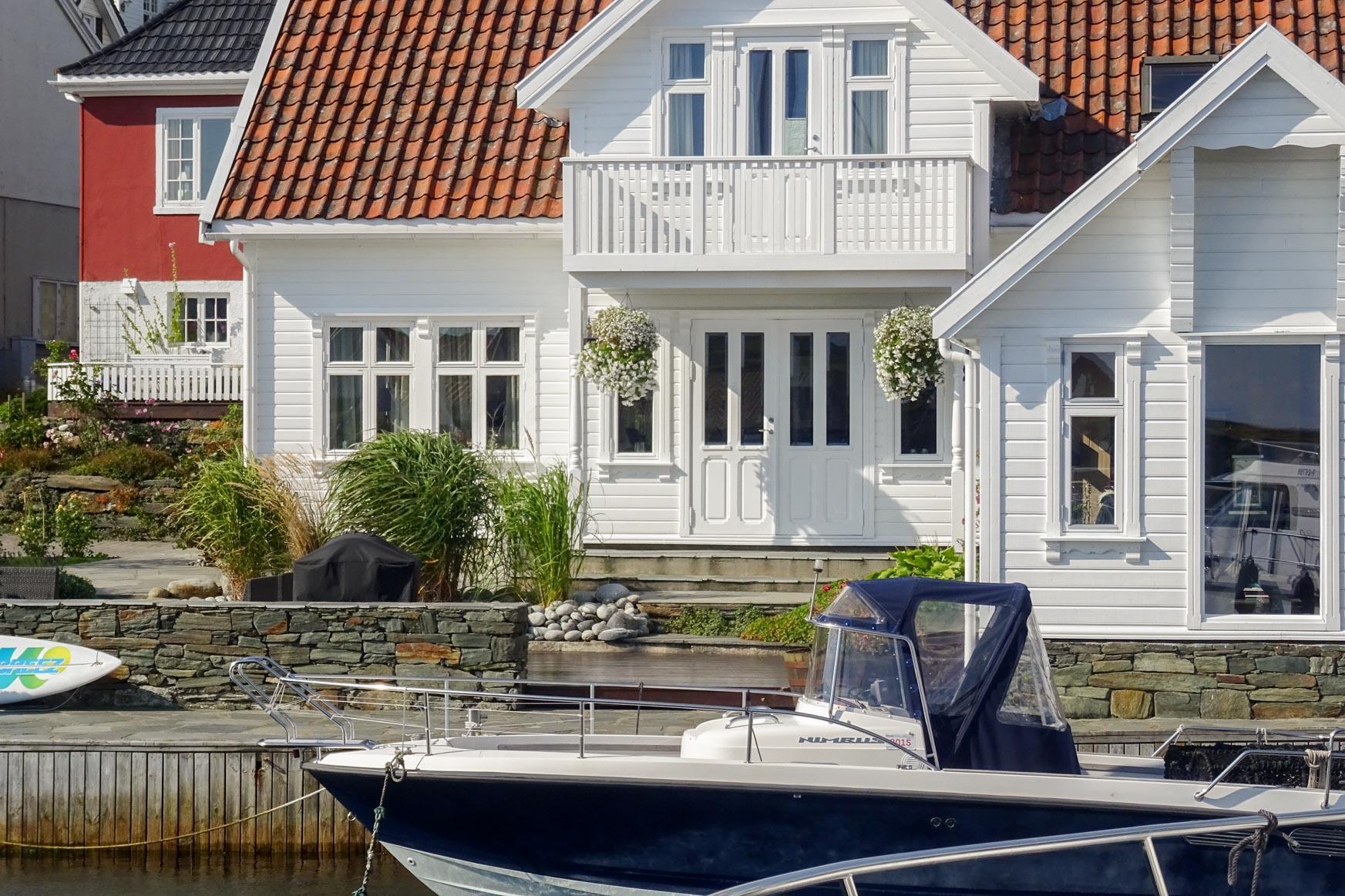 Haus am Hafen - norwegischer Life-Stile