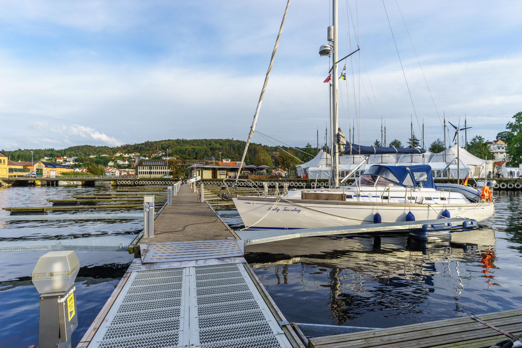 Egersund Hafen - nicht wirklich schön