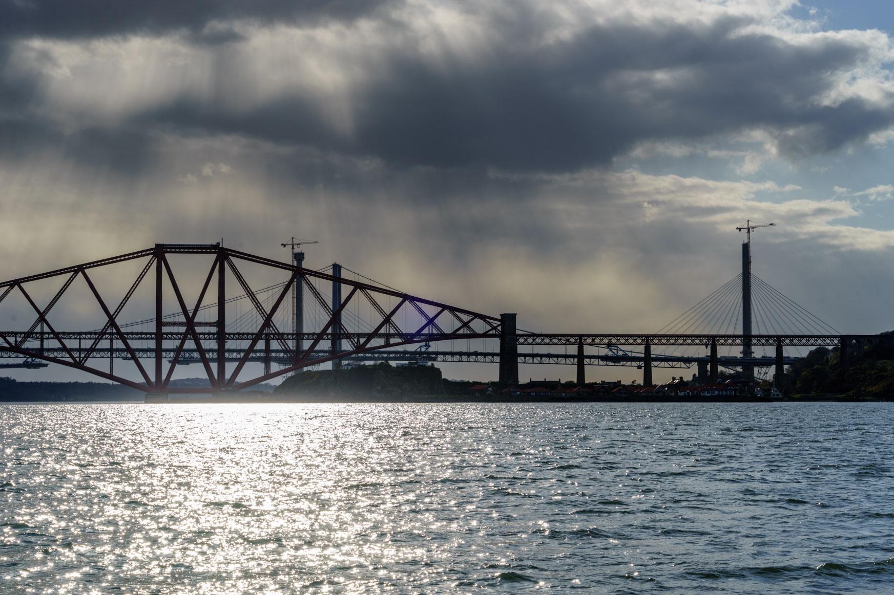 Brücke über den Firth of Forth