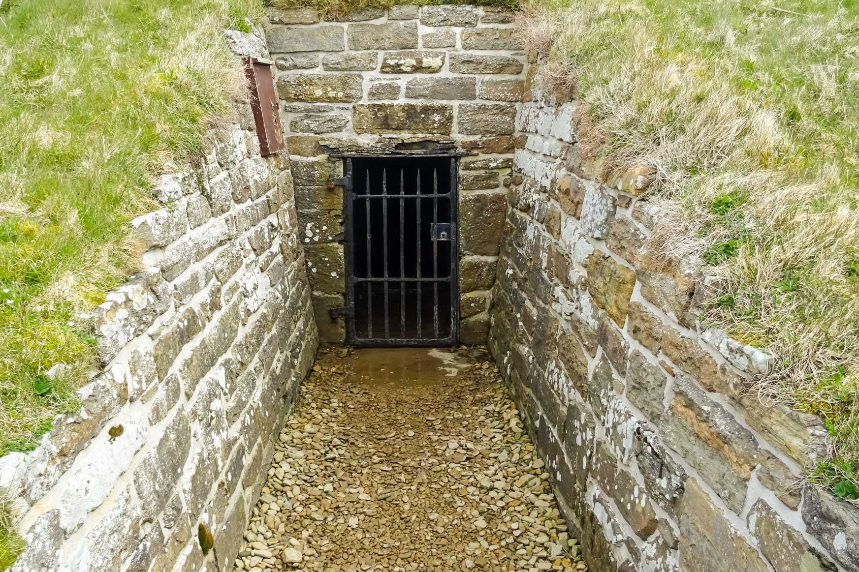 Eingang in die Grabkammer