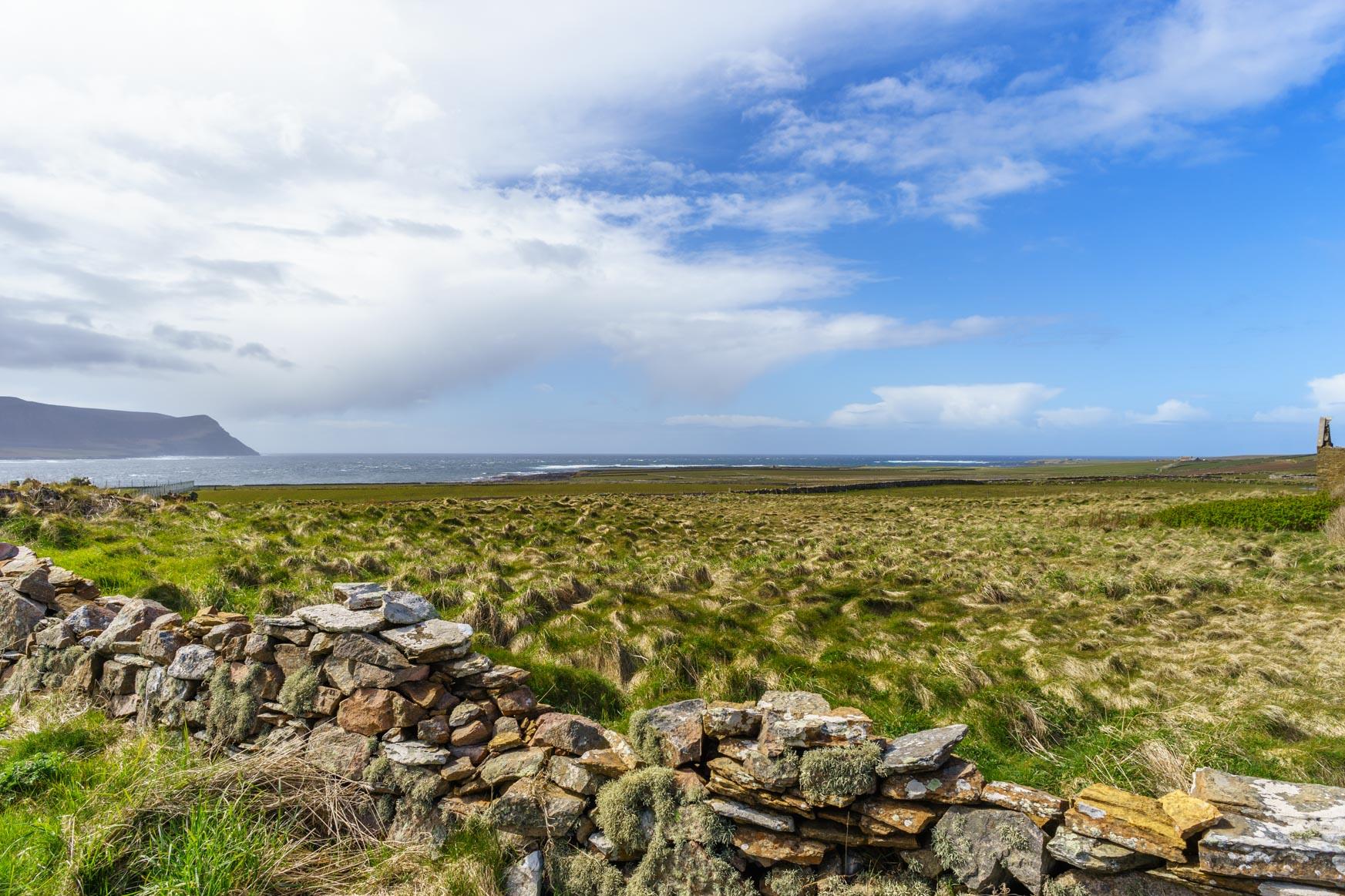 Ness Point mit Blick in den Hoy Sound