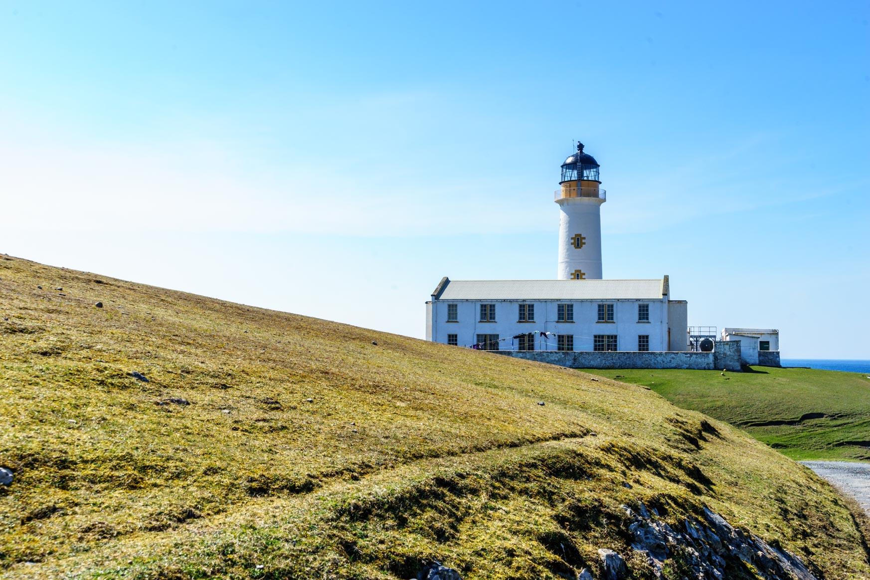 Südlicher Leuchtturm - es gibt auch noch einen auf der Nordseite