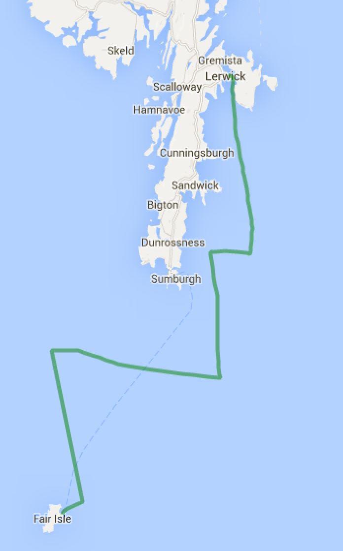 Fair Isle - Lerwick