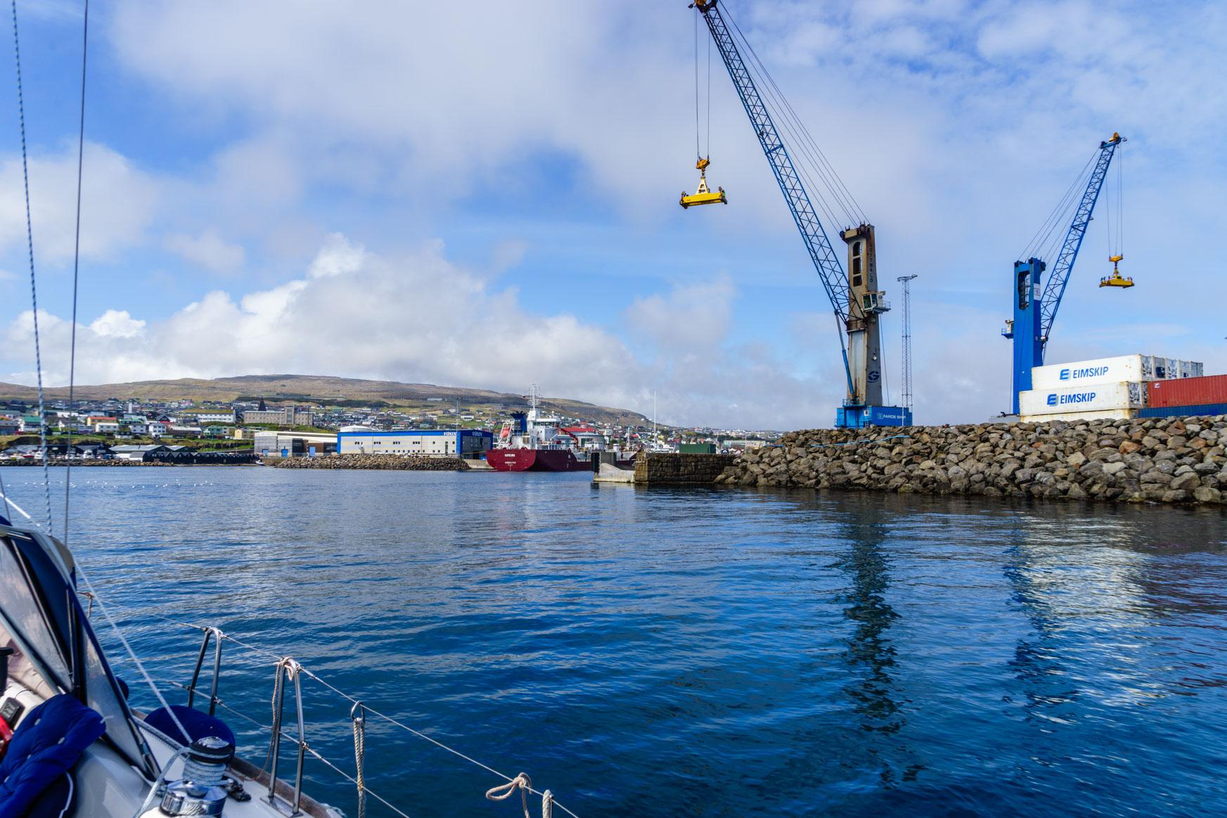 Ansteuerung Torshavn