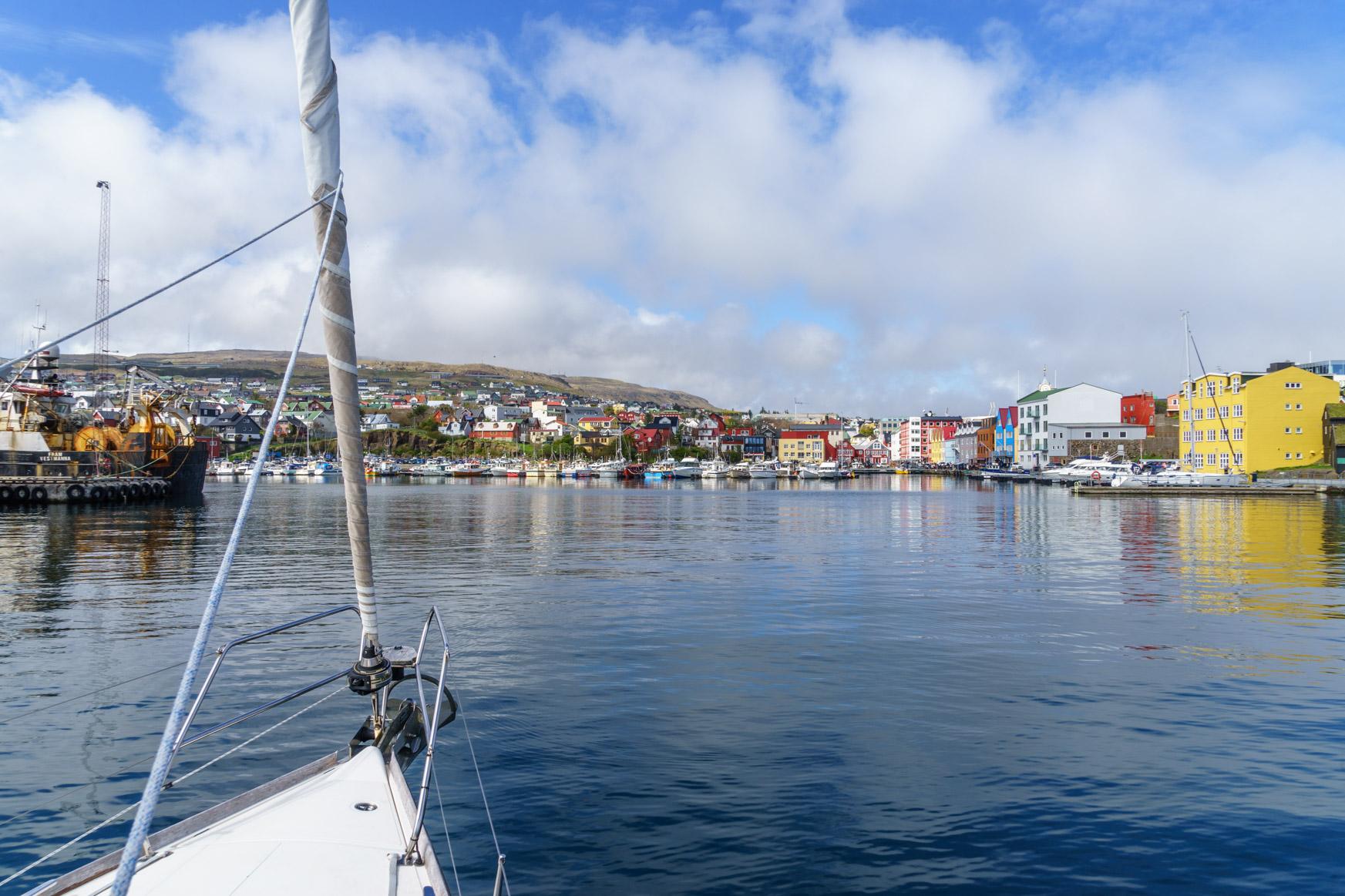 Marina in Torshavn