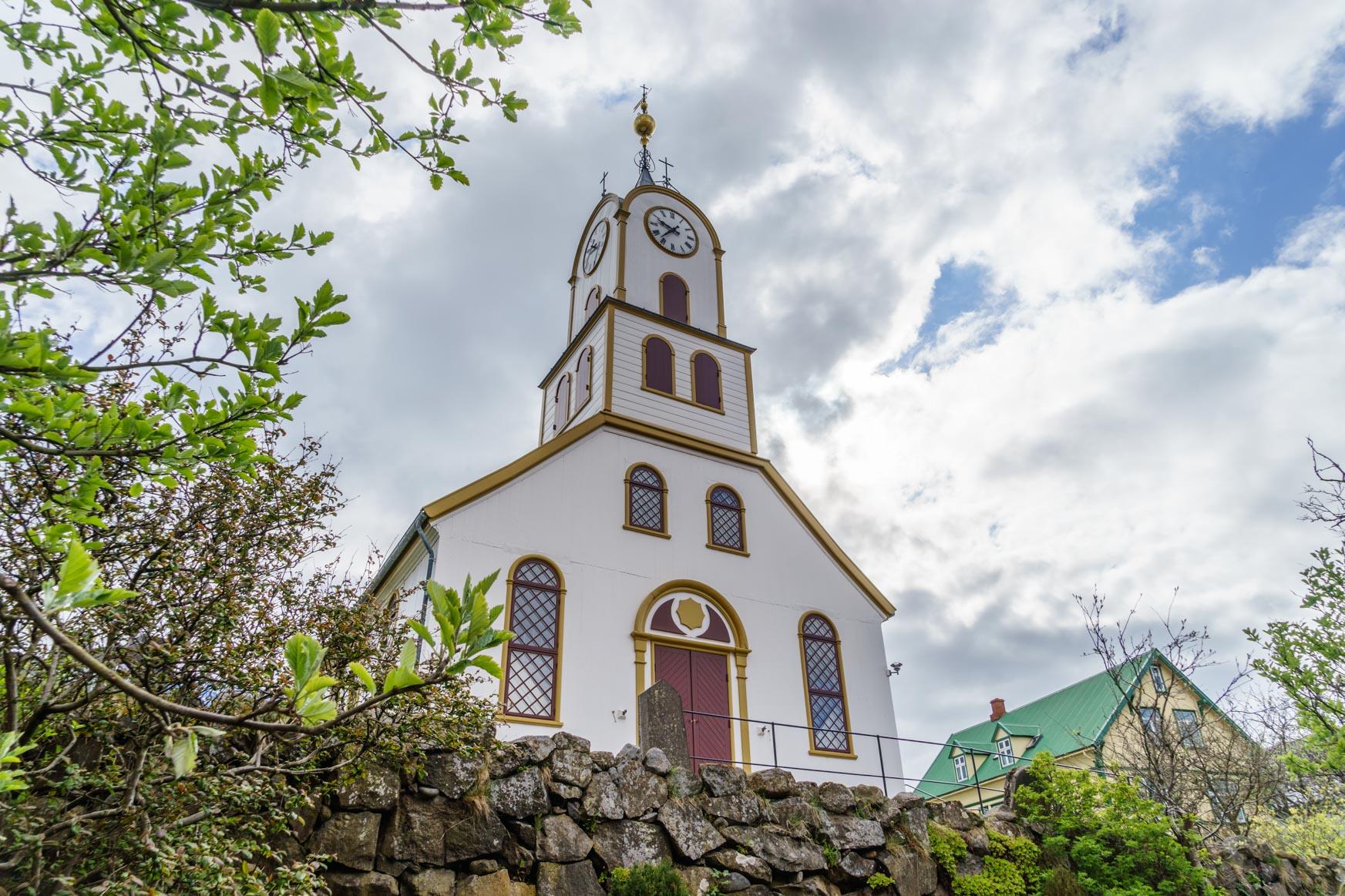 Havna Kirche auf Tinganes