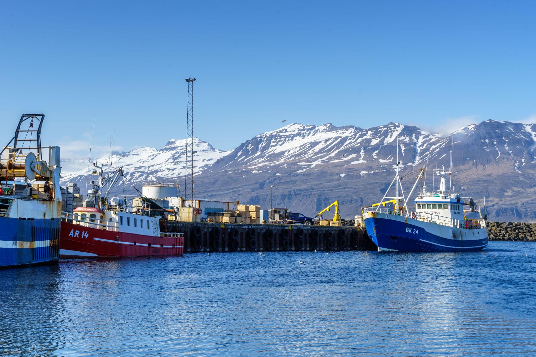 Fischerhafen Djupivagur
