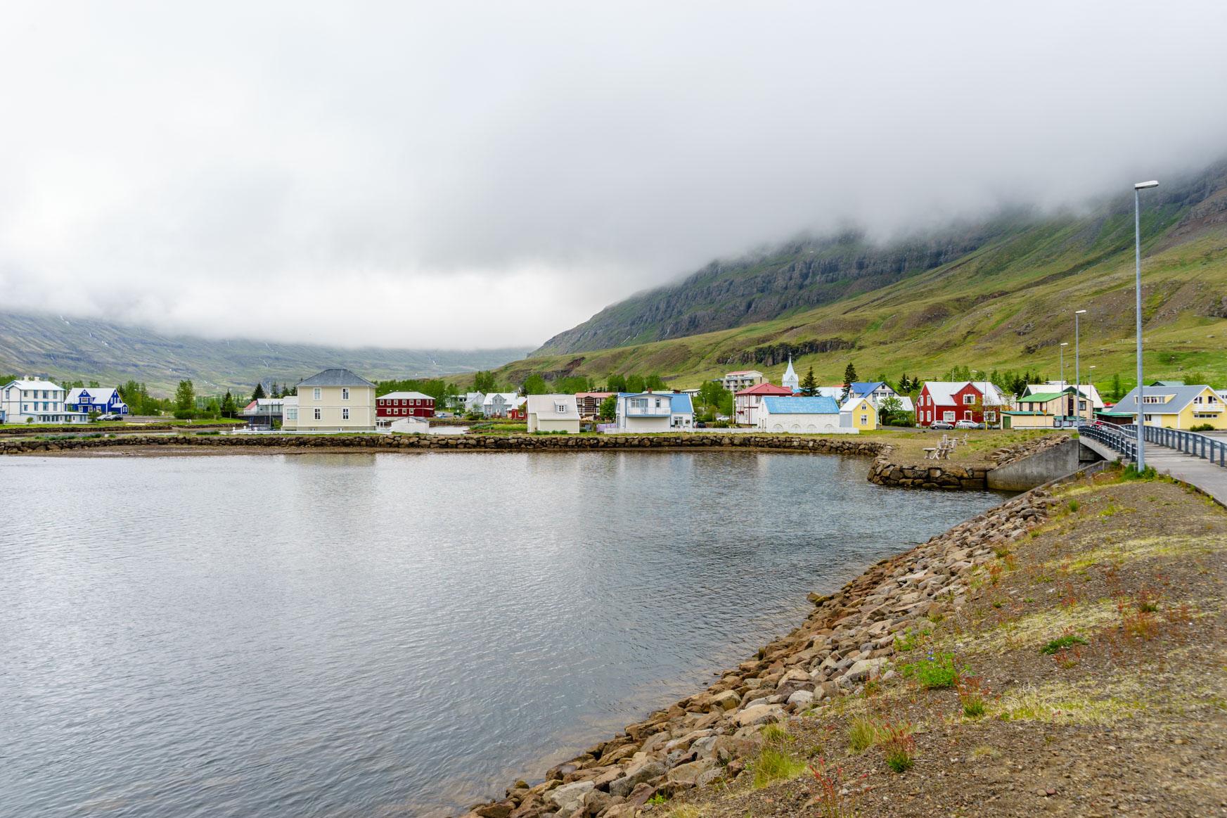 Altstadt von Seyðisfjörður