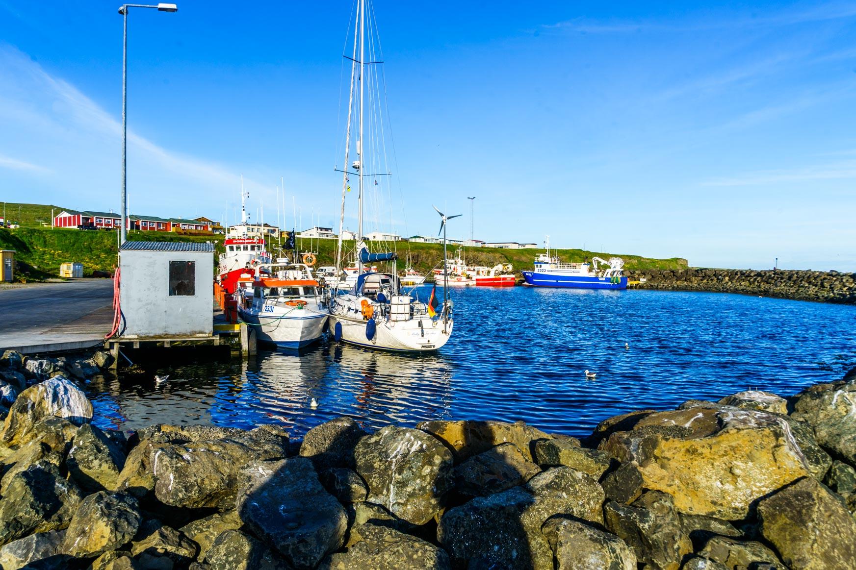 Hafen von Grimsey