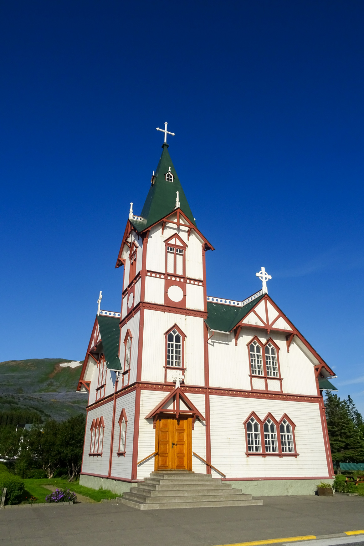 Kirche von Húsavik