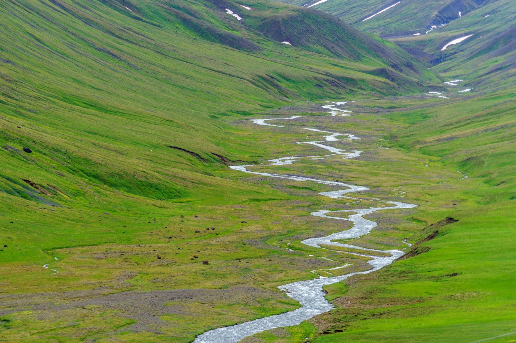 So grün kann Island sein
