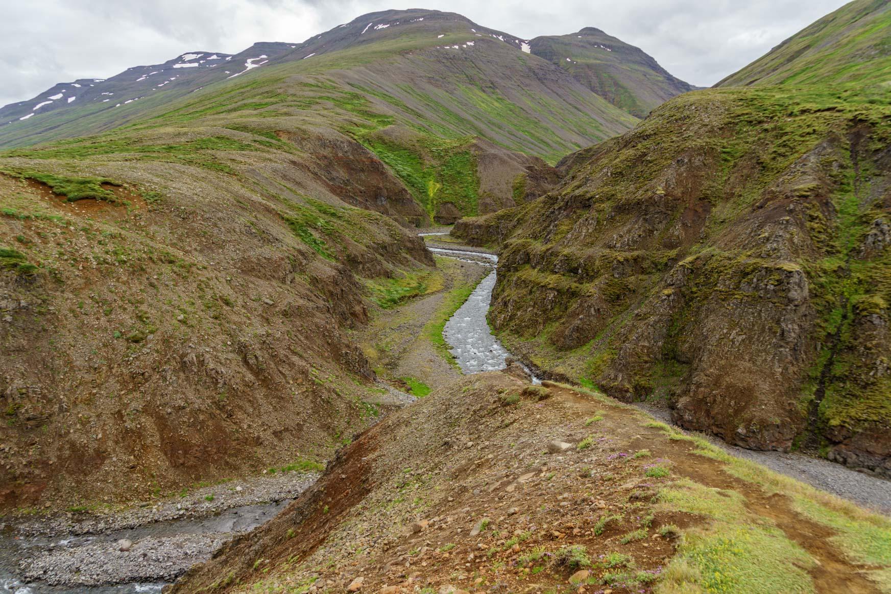 Islands größte Schlucht