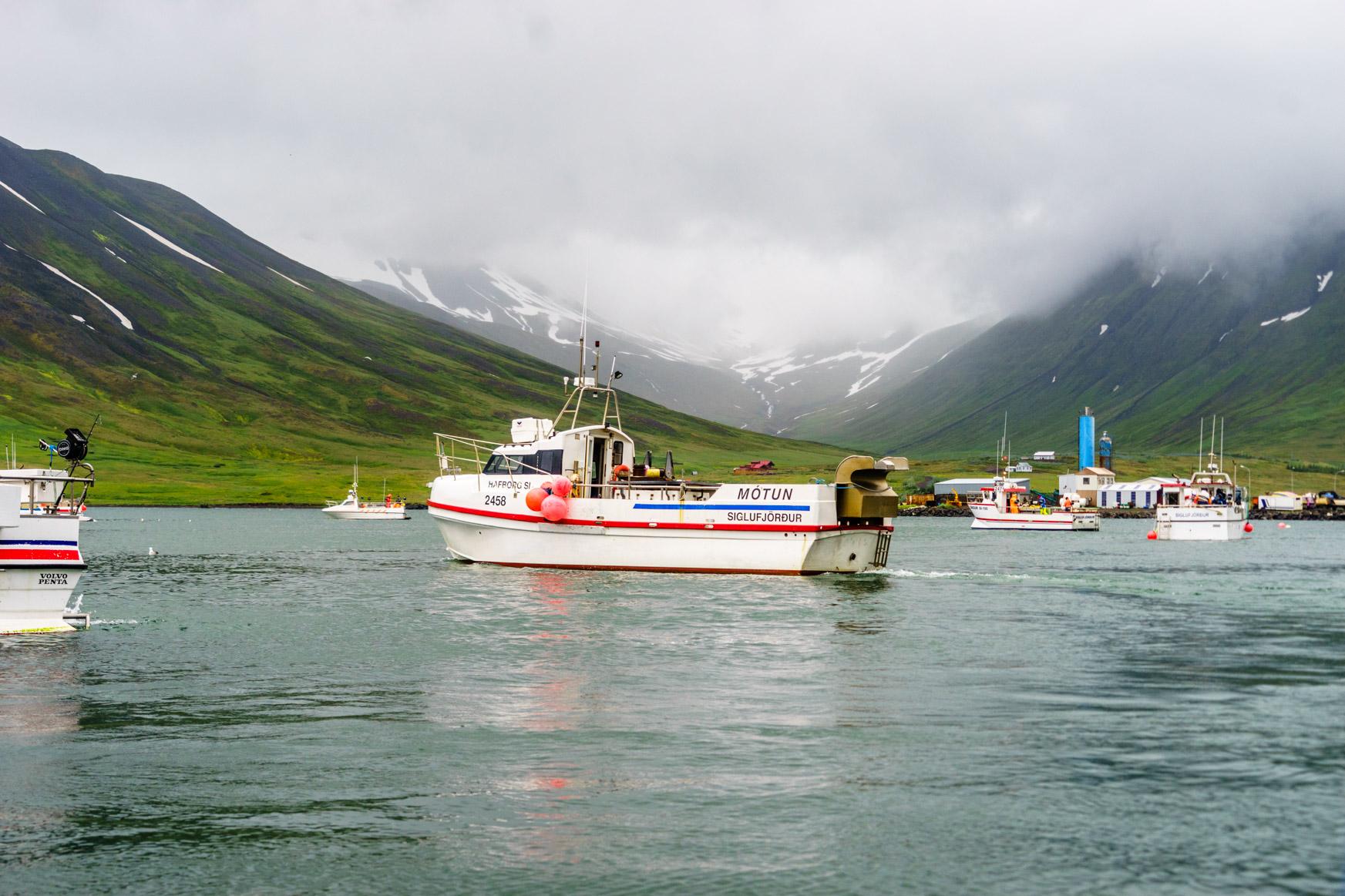 Stau an der Fischannahemestelle