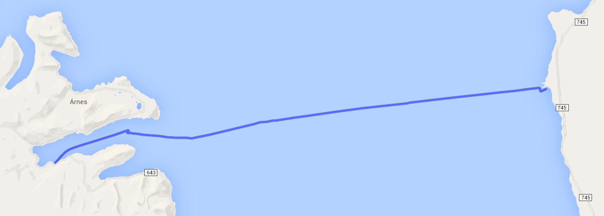 Kálfhamarsvík - Djúparvík