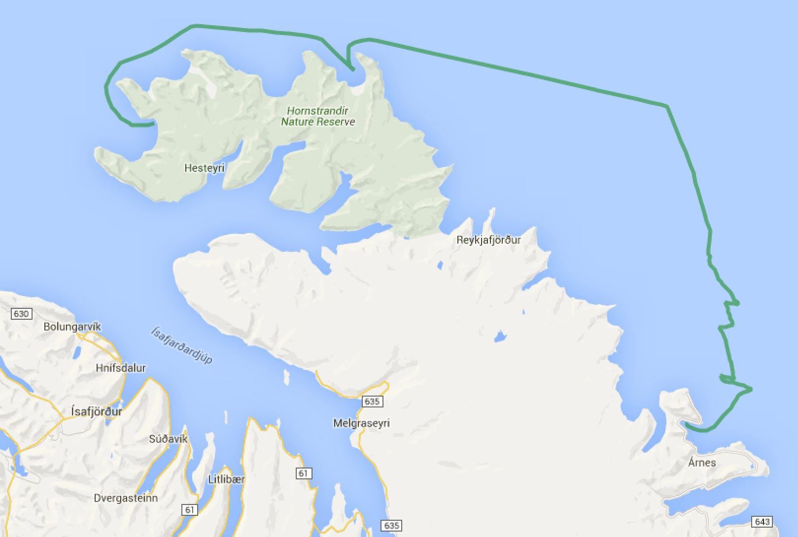 Norðurfjörður - Aðalvik