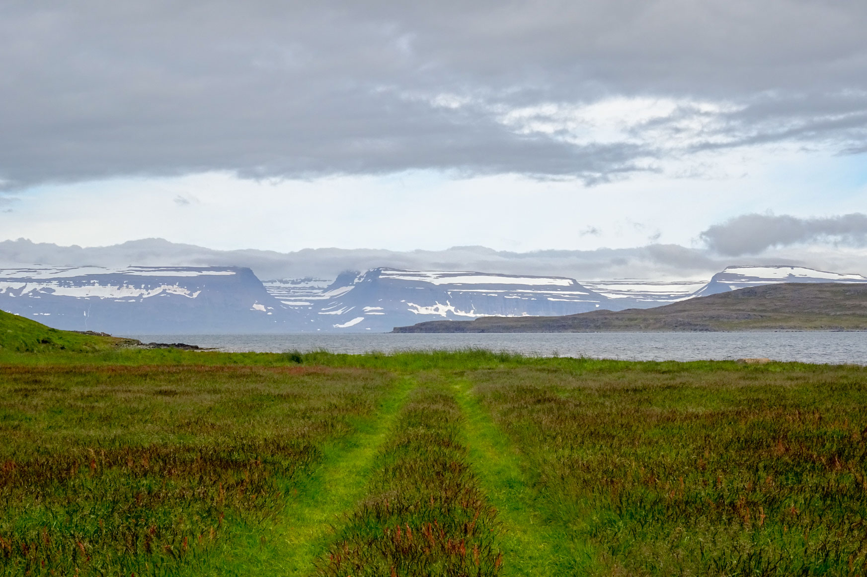 Berge der Westfjorde