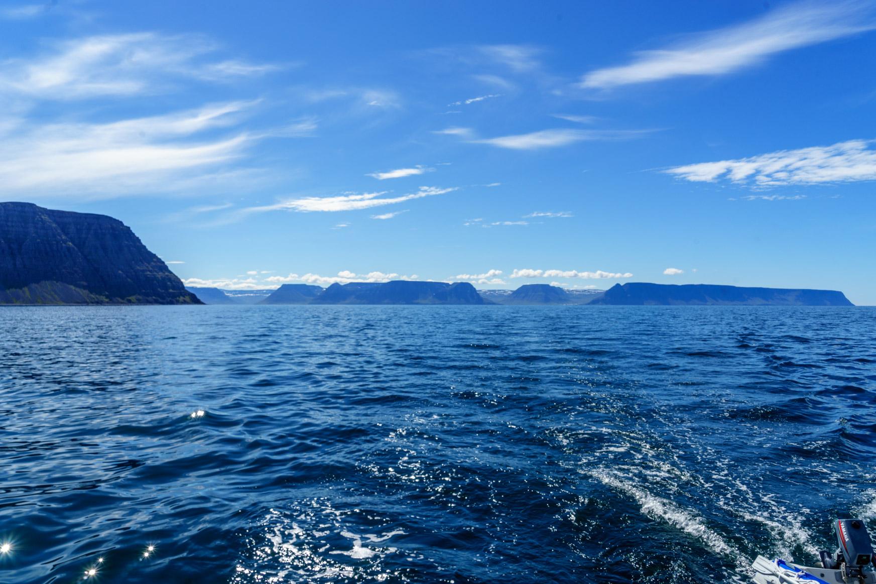Segeln in den Westfjorden