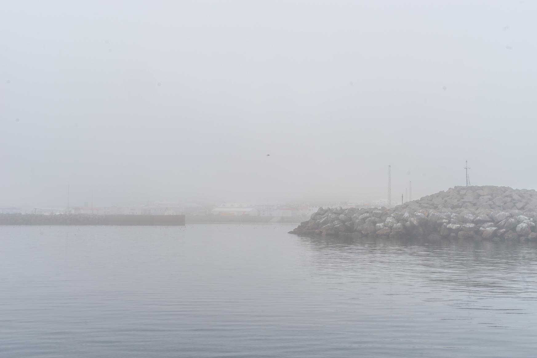 Hafeneinfahrt von Bolungarvik