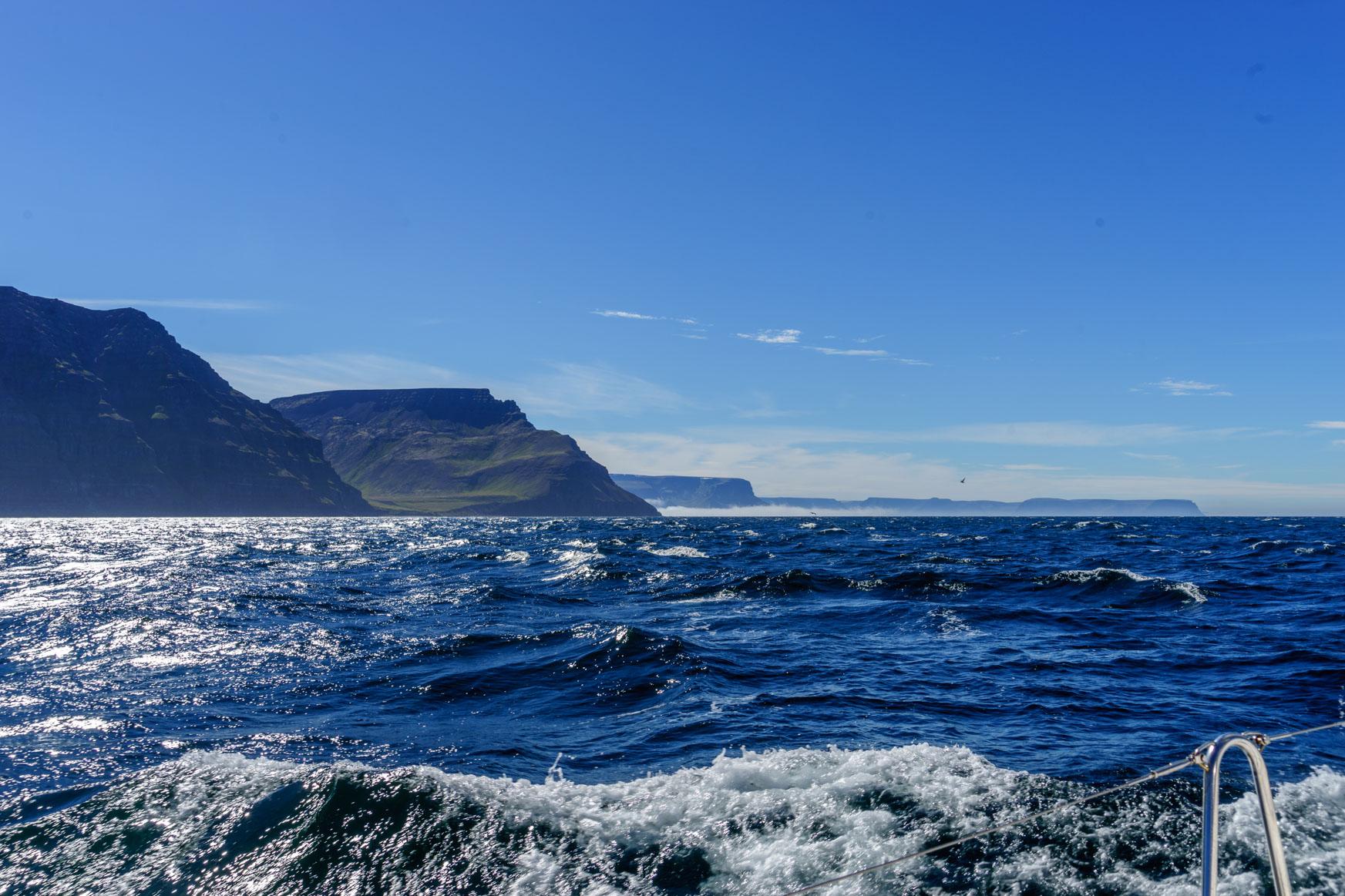 Super Segeltag in den Westfjorden