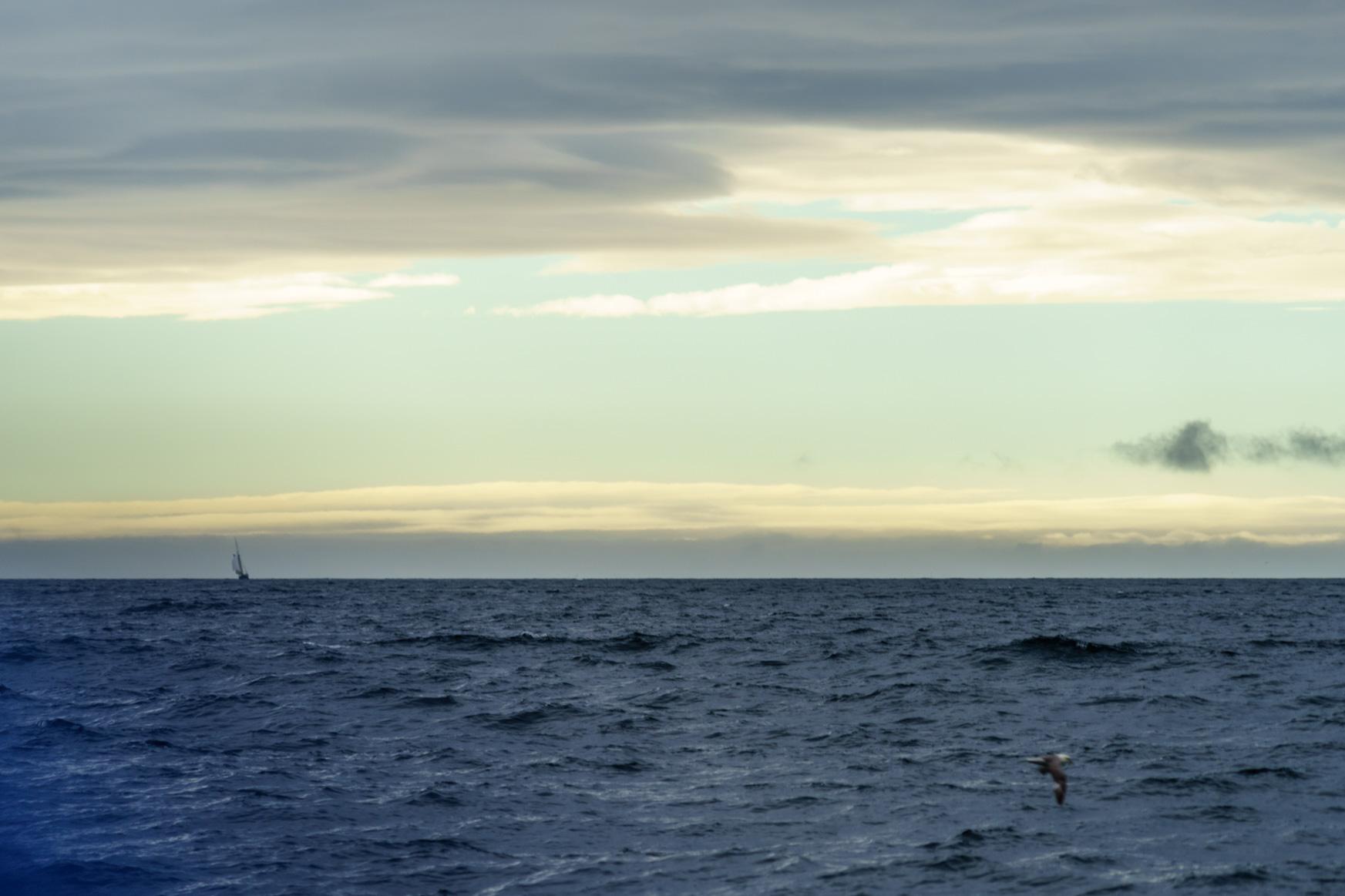 Sonne heute nur Richtung Grönland