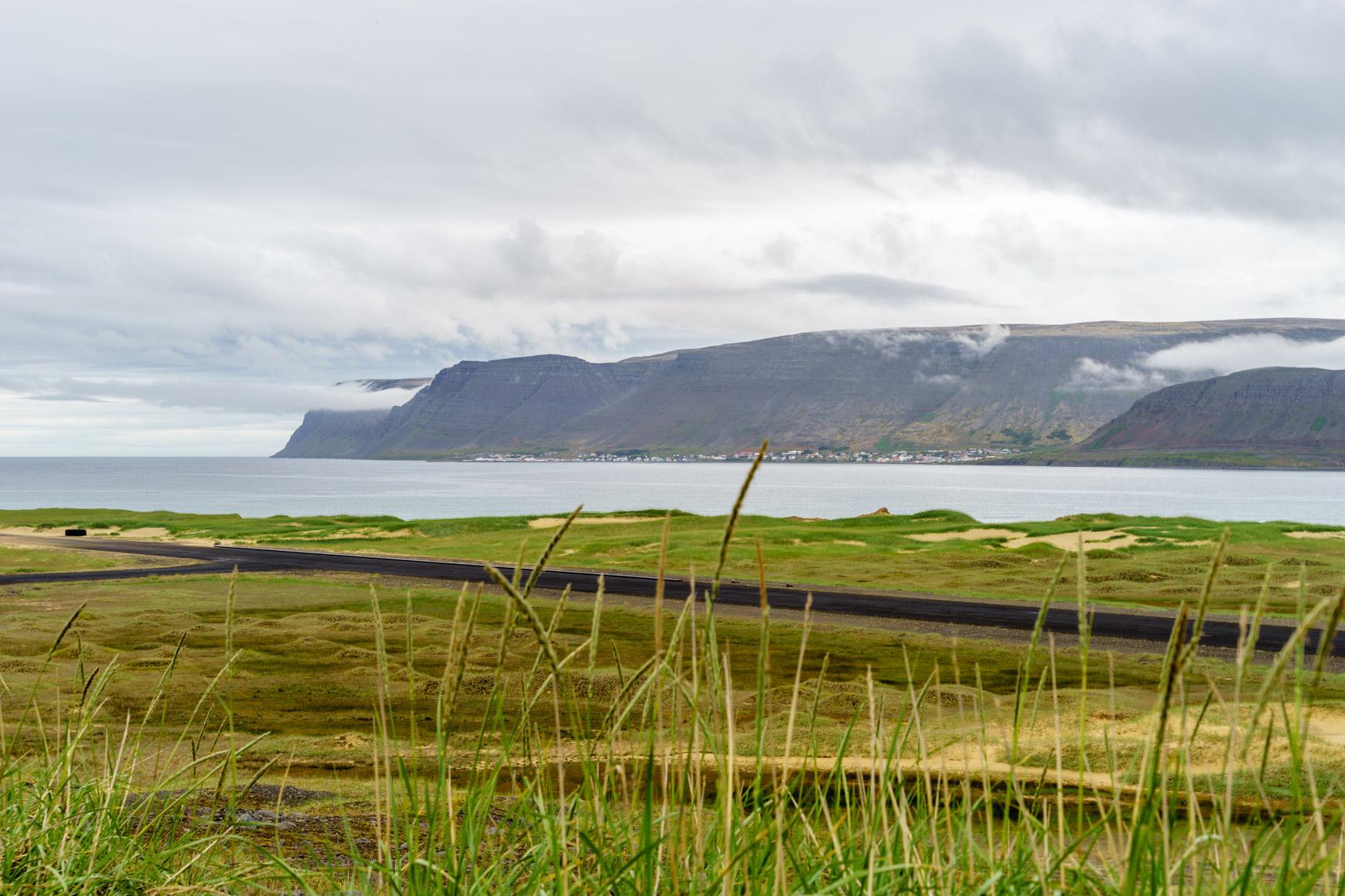 Sanddünen in Island
