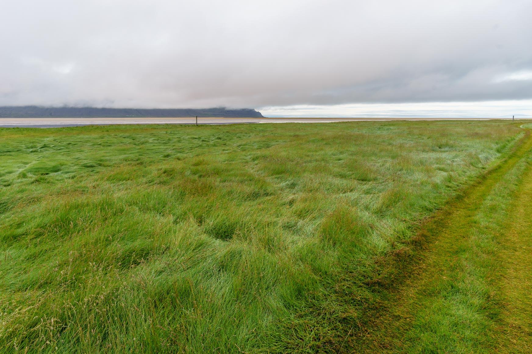 Durch die Wiesen bis zum Rauðasandur