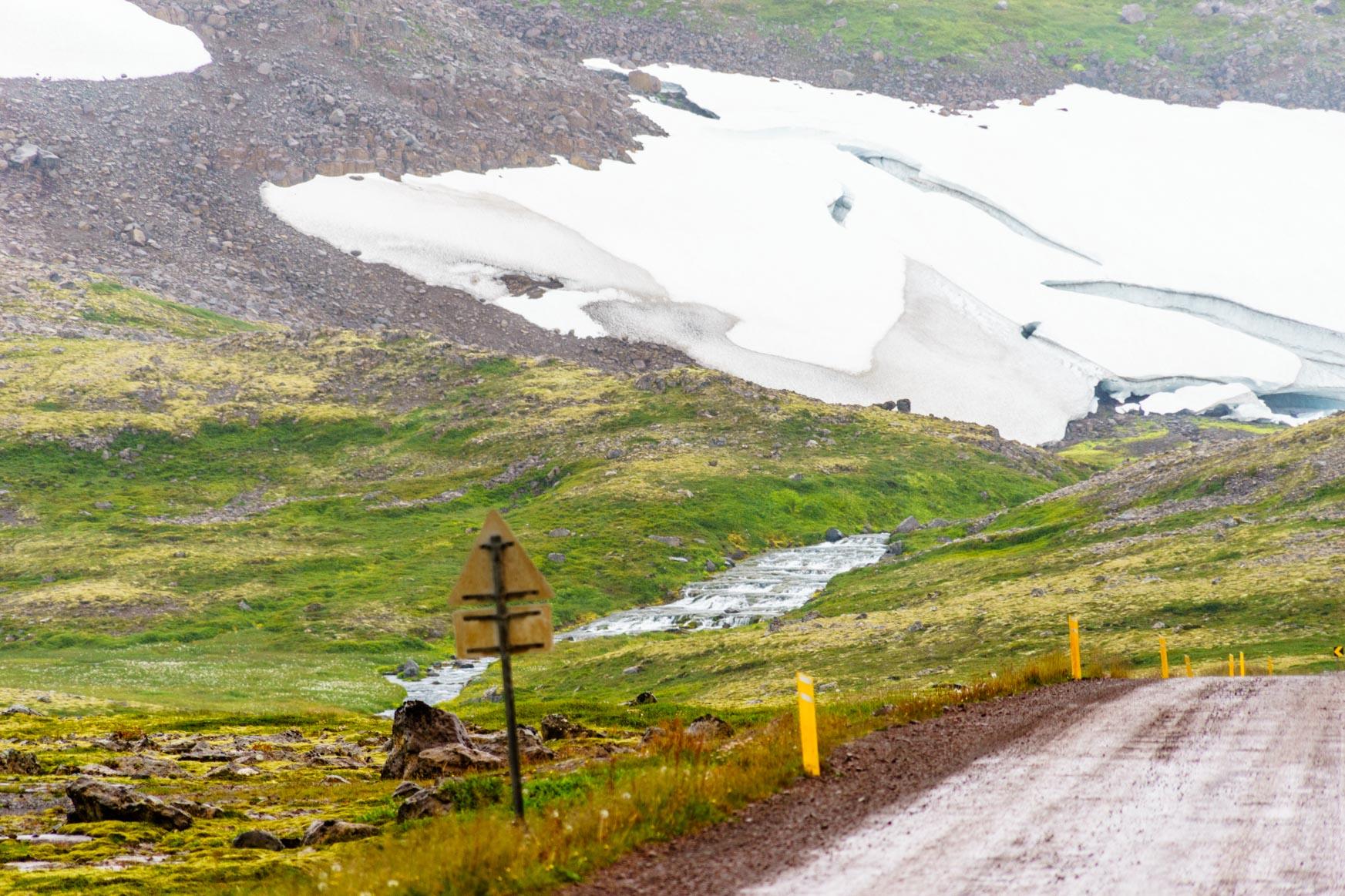 Schneefelder, die auch im Sommer nicht wegtauen