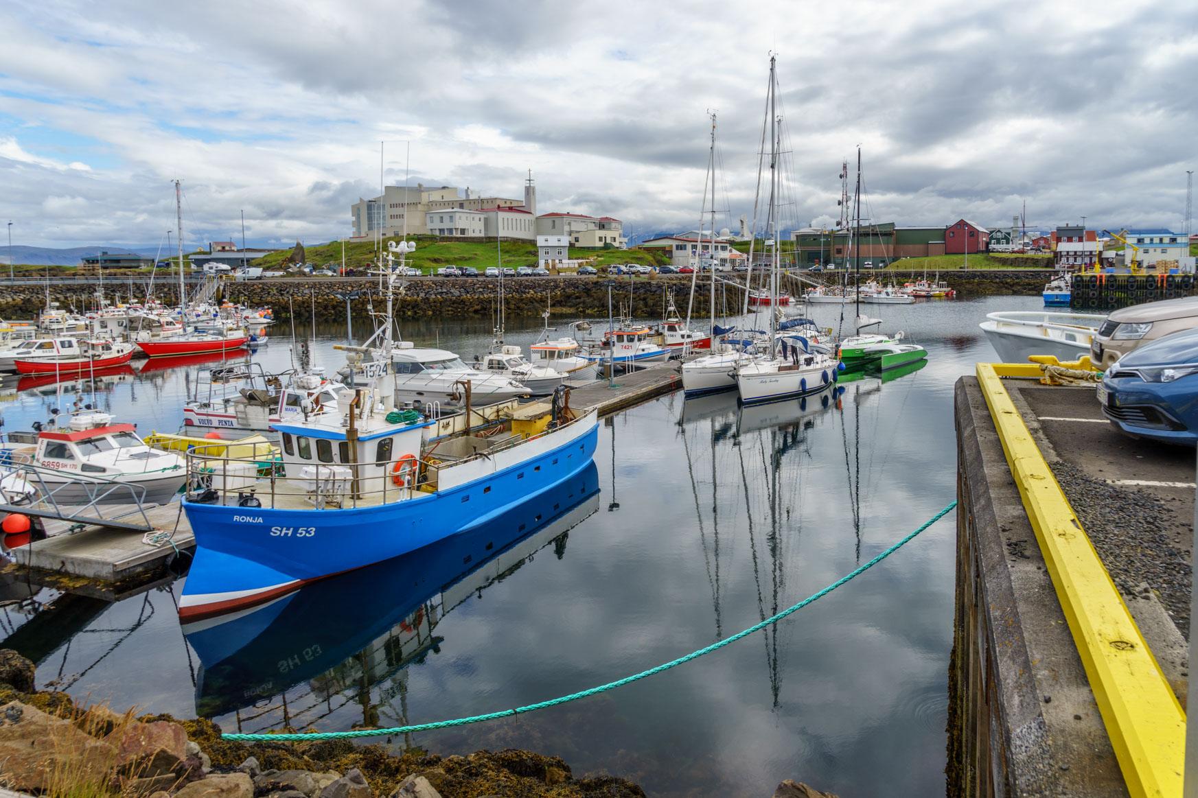 Hafen von Stykkishólmur