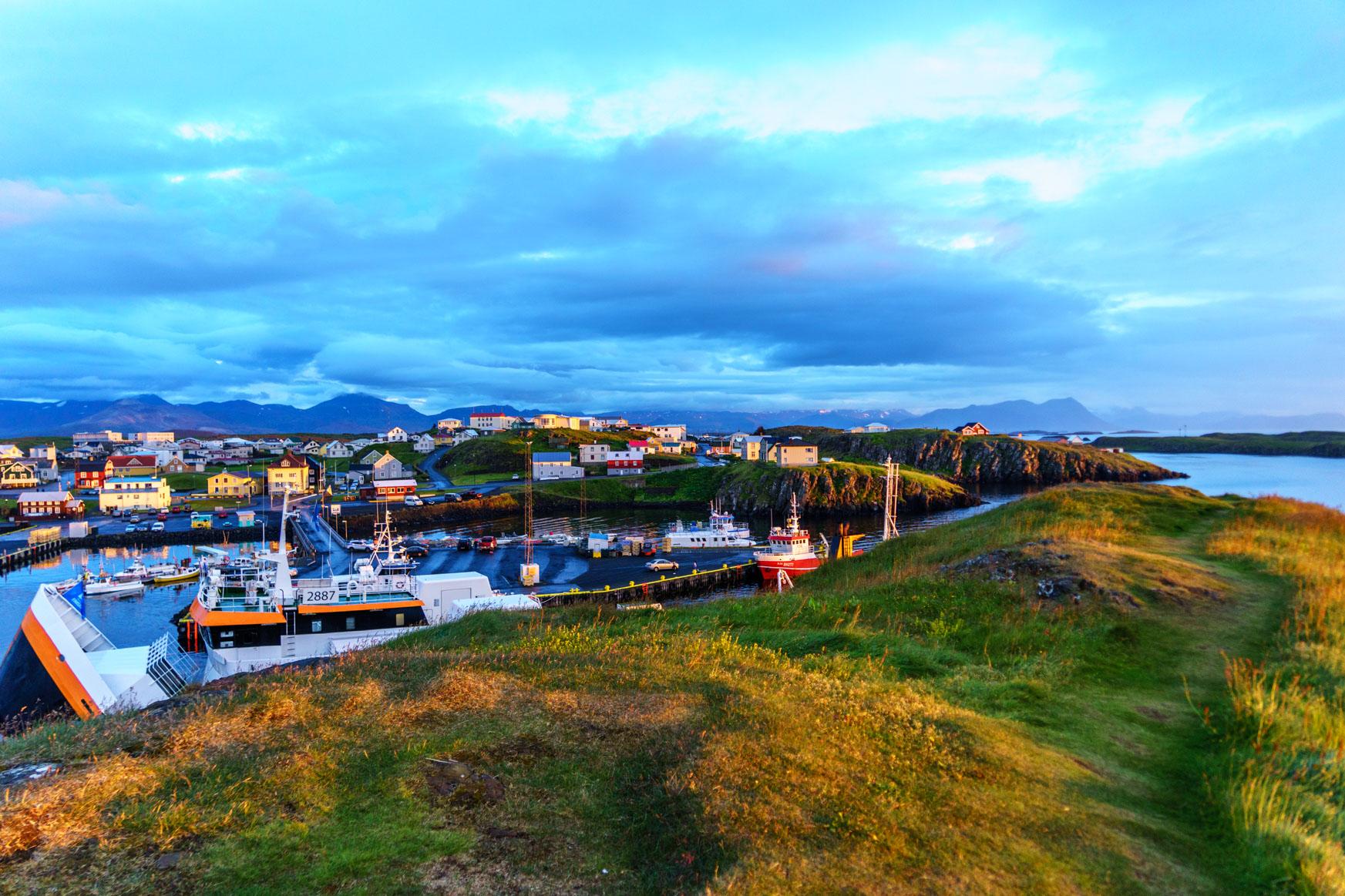 Hafen in der Abendsonne