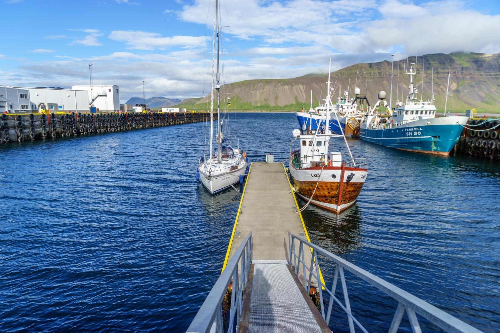 Im Hafen von Grundarfjörður