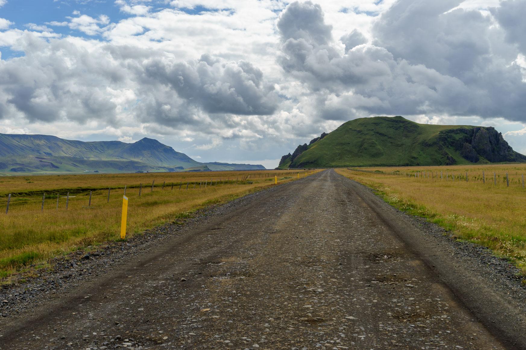 Am Fuße des Eyjafjallajökull