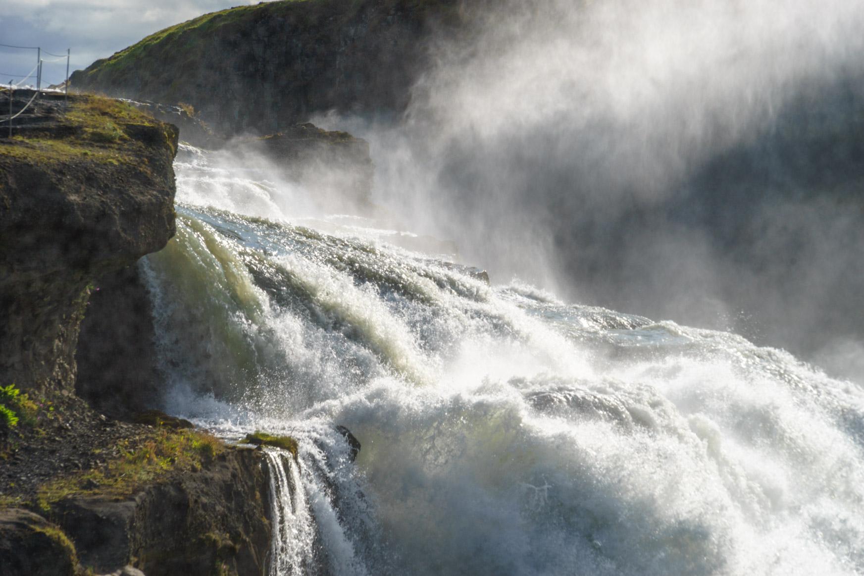 Gulfoss - der Goldene Wasserfall