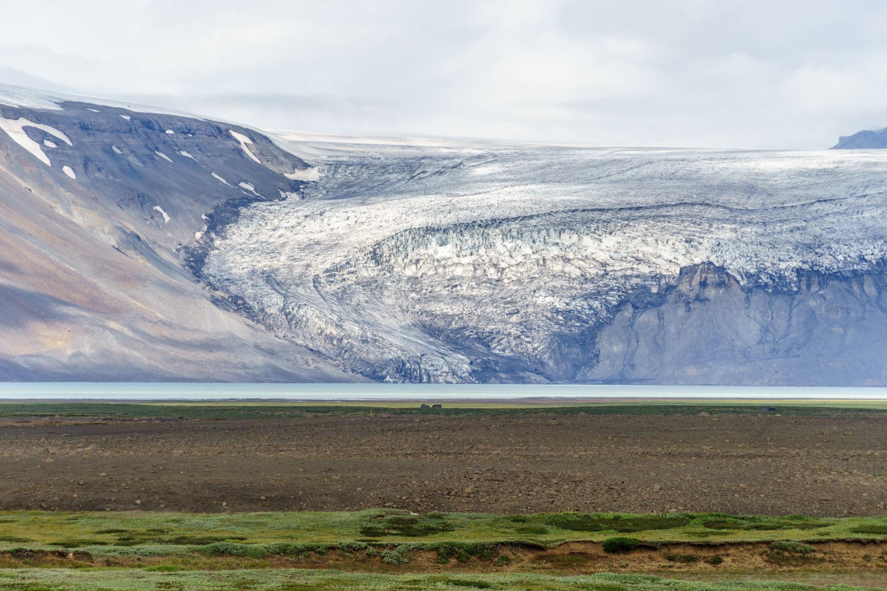Gletscherzunge des Langjökulls
