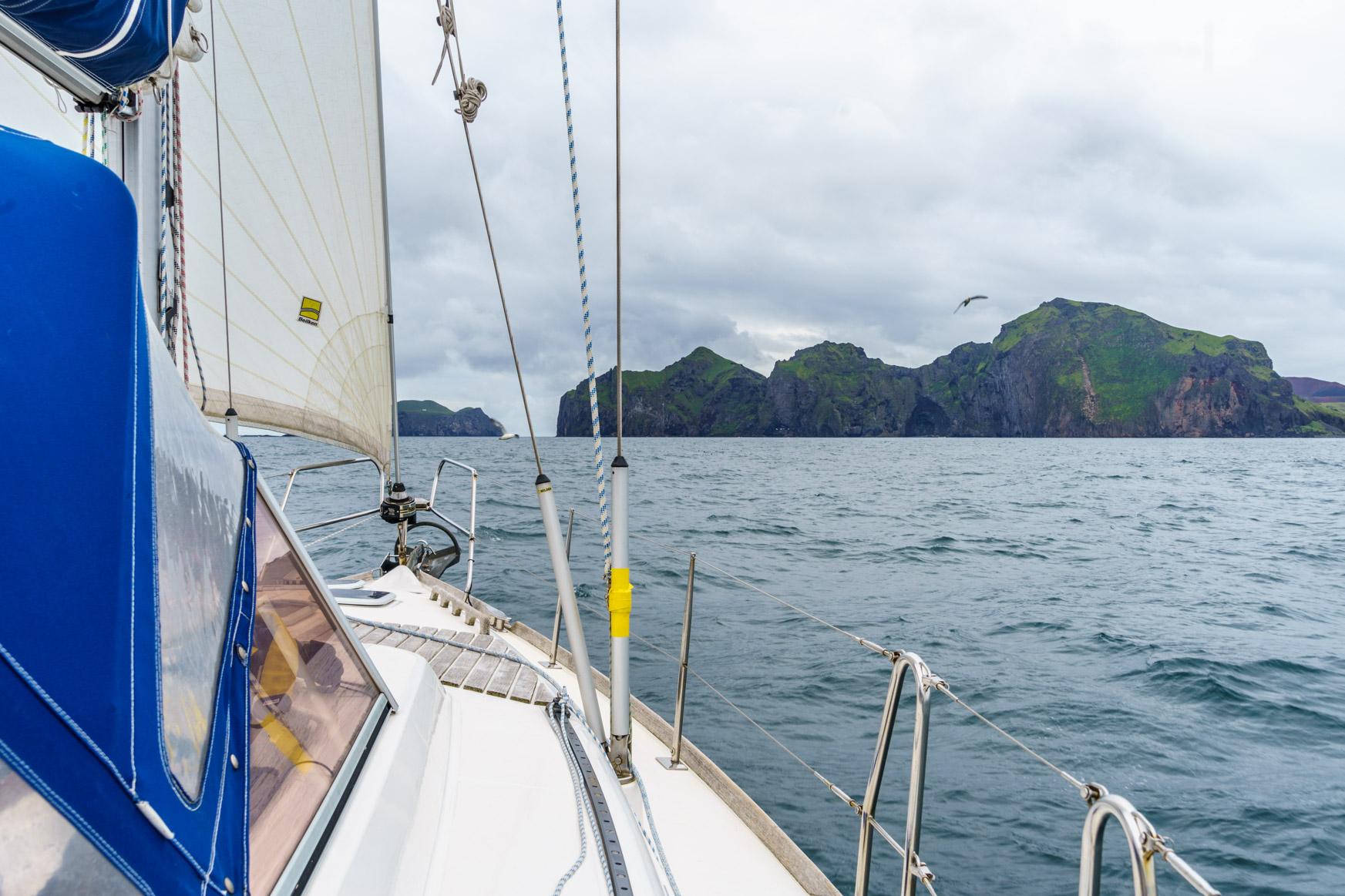 Ansteuerung der Westmänner Inseln
