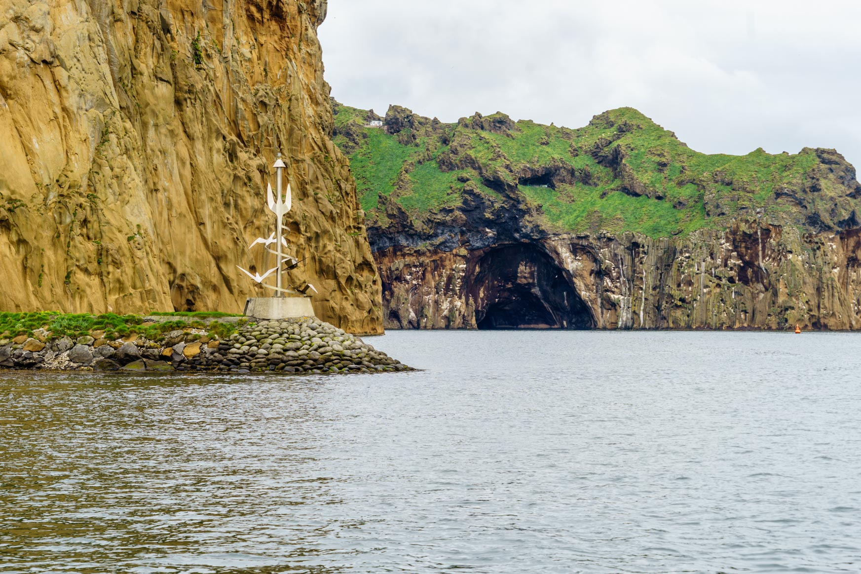 Hafeneinfahrt von Vestmannaeyjar