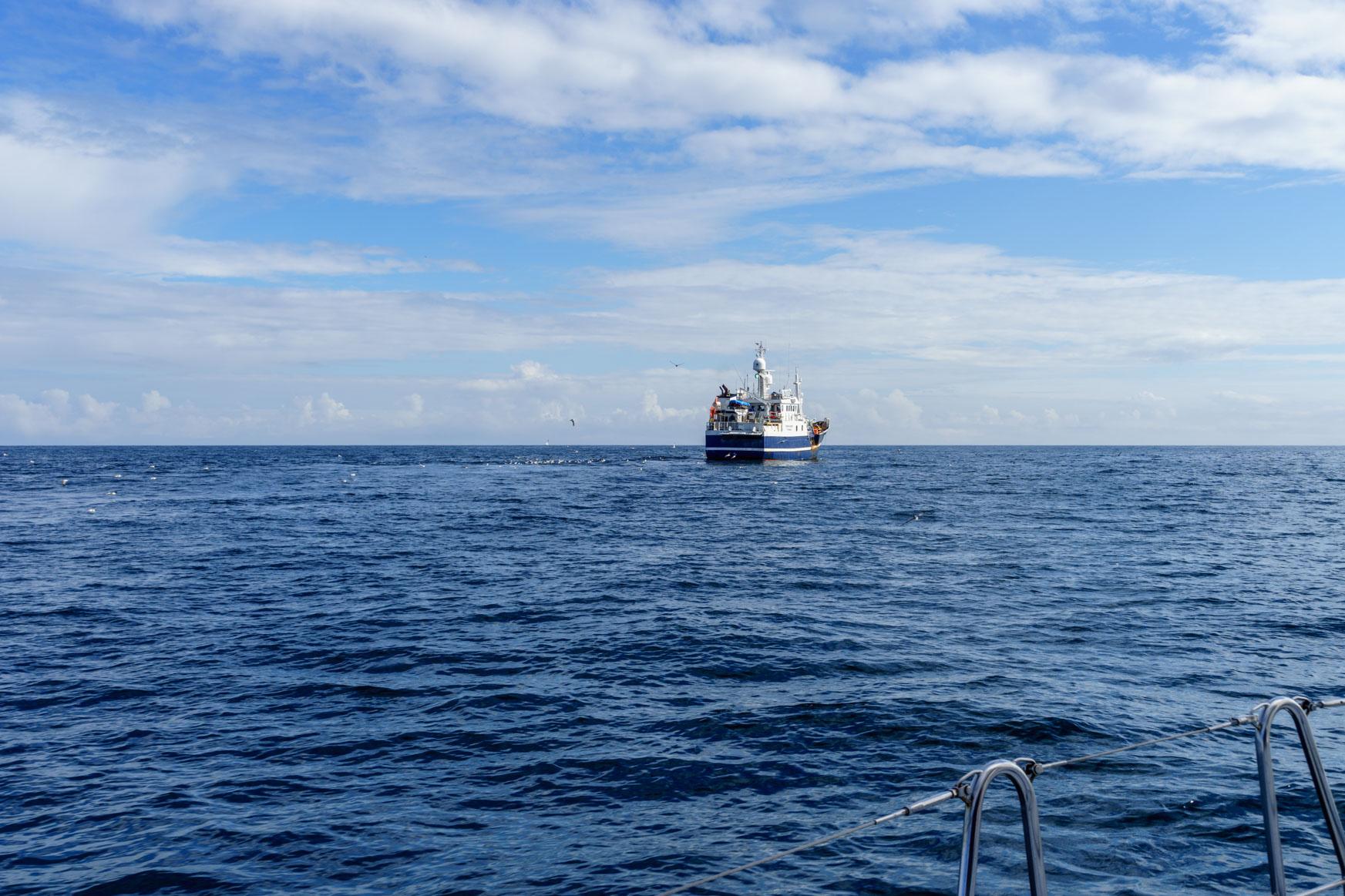 Fischer unterwegs