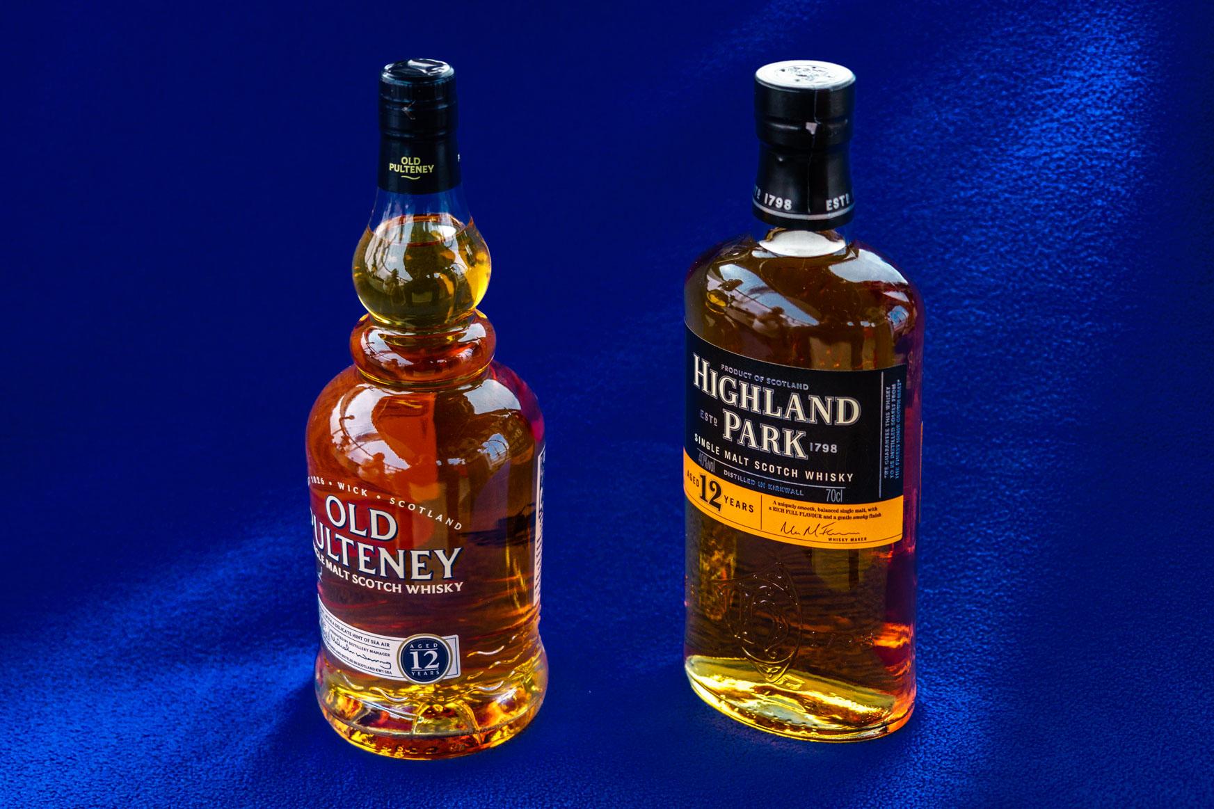 Old Pulteney und Highland Park Whisky